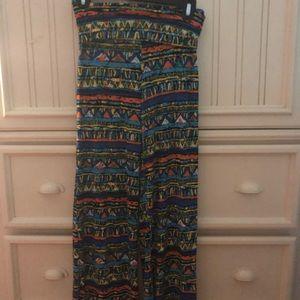 Flowy patterned soft pants